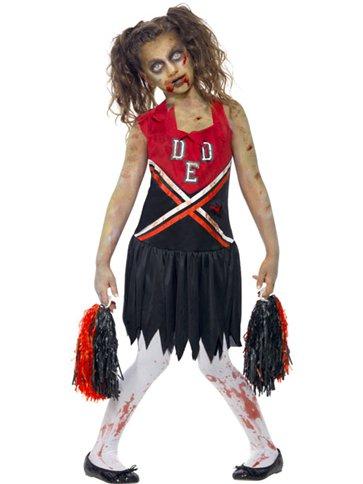Zombie Cheerleader Child Amp Teen Costume Party Delights