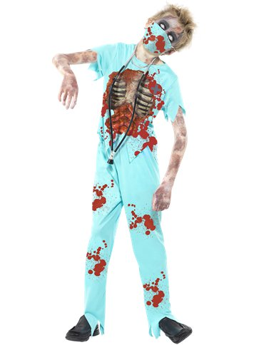Zombie Surgeon - Child & Teen Costume front