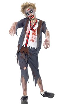 Zombie School Boy - Child Costume