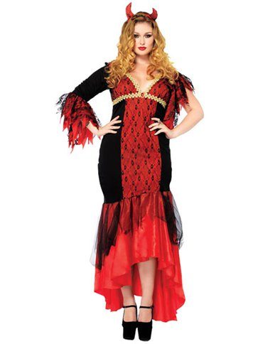 Diva Devil Adult Costume Party Delights