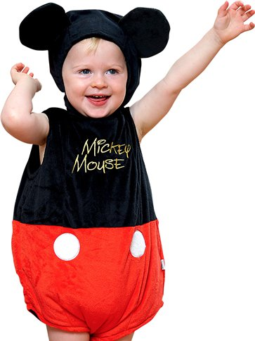 Mickey Mouse - Baby Costume front