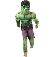 Hulk Deluxe Muscle Chest - Child Costume