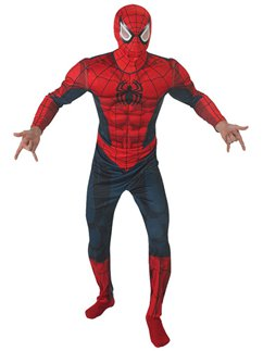 Spider-Man Deluxe Muscle Chest - Adult Costume