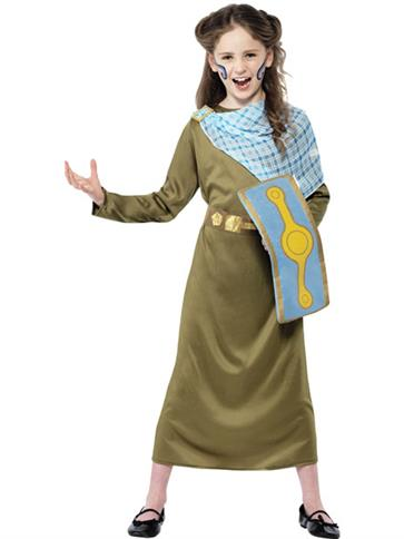 Horrible Histories Boudicca Child Costume Party Delights