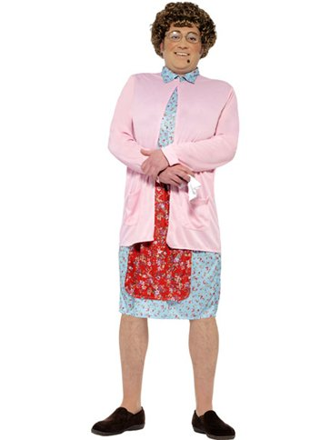 Mrs Brown Boy - Adult Costume front