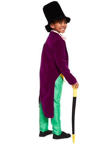 Roald Dahl Willy Wonka - Child and Teen Costume left