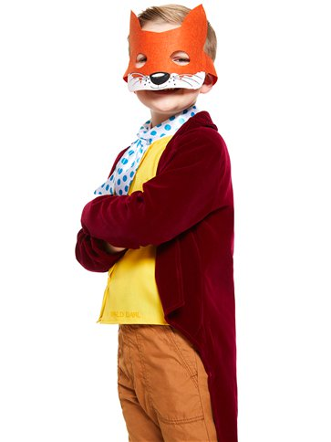 Roald Dahl Fantastic Mr Fox - Child and Teen Costume back