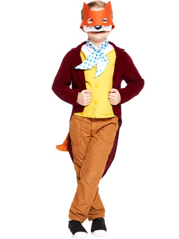 Roald Dahl Fantastic Mr Fox - Child and Teen Costume front