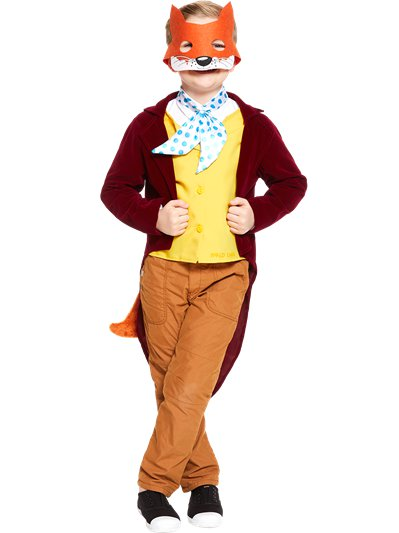 Roald Dahl Fantastic Mr Fox - Child and Teen Costume