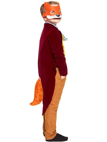 Roald Dahl Fantastic Mr Fox - Child and Teen Costume left