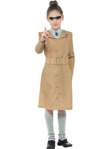 Roald Dahl Miss Trunchbull - Child and Teen Costume front