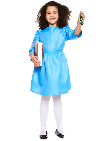 Roald Dahl Matilda Child And Teen Costume Party Delights