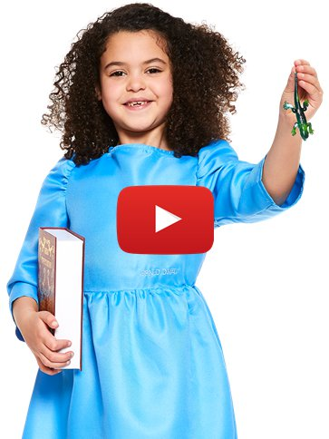 Roald Dahl Matilda - Child Costume video
