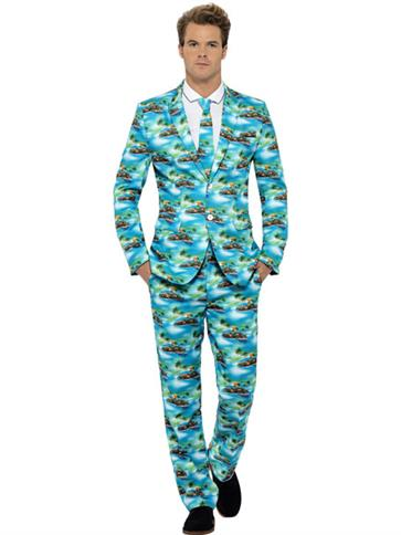 Aloha Stand Out Suit - Adult Costume front