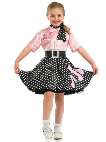 Rock'n'Roll Girl - Child Costume front