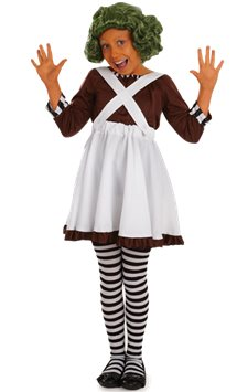 Factory Worker Girl - Child Costume