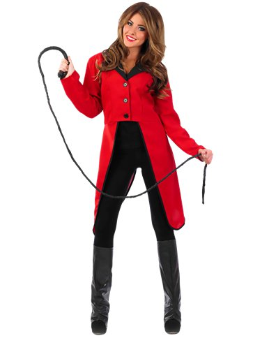 Circus Ringmaster Jacket - Adult Costume front