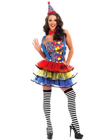 Cutie Clown - Adult Costume front