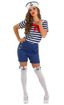 Sassy Sailor - Adult Costume