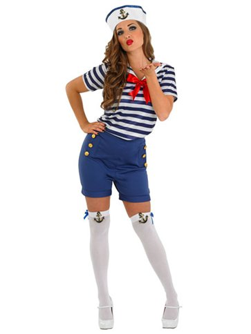 Sassy Sailor - Adult Costume front