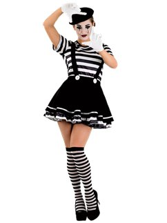 Female Mime Artistie