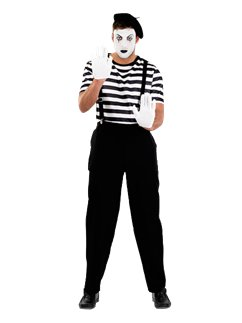 Male Mime Artist