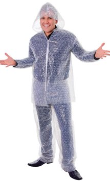 Bubble Wrap Suit - Adult costume