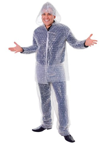 Bubble Wrap Suit - Adult costume front