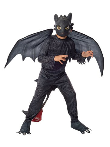 Toothless Night Fury front