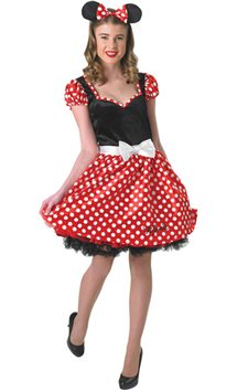 Sassy Minnie Mouse - Adult Costume