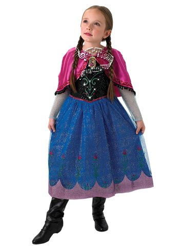 Disney Frozen Musical Light Up Anna Deluxe - Child Costume front