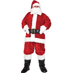 "Regal Plush Santa Suit - 46-48"" Chest"