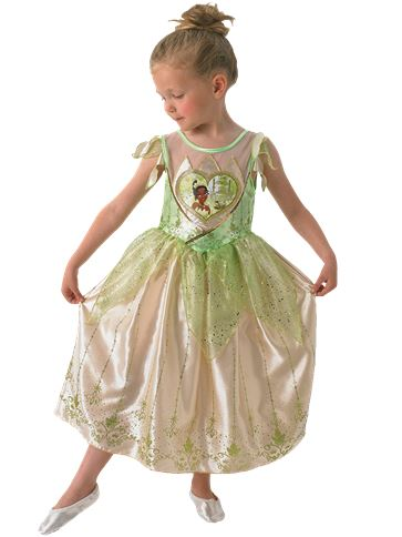 Disney Tiana Deluxe - Child Costume front