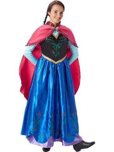 Disney Frozen Anna - Adult Costume front