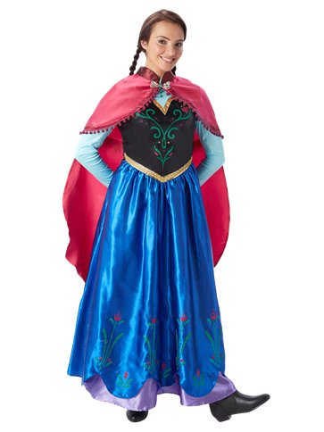 Disney Frozen Anna - Adult Costume pla