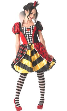 Sassy Queen of Hearts - Adult Costume