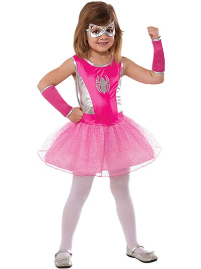 Pink Spider-Girl - Child Costume