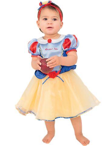 ... Disney Snow White - Baby u0026 Toddler Costume front ...  sc 1 st  Party Delights & Disney Snow White - Baby u0026 Toddler Costume | Party Delights
