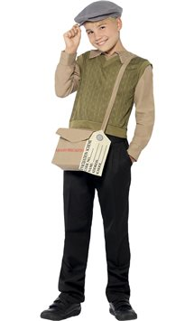 Evacuee Boy Kit - Child Costume