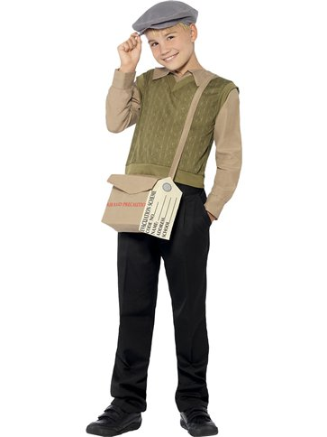 Evacuee Boy Kit - Child Costume front