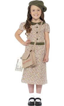 Evacuee Girl - Child Costume