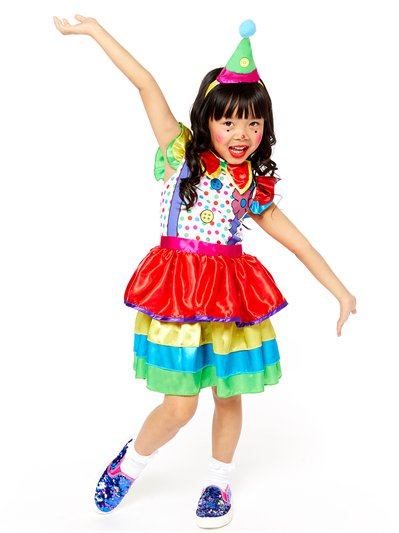 Clown Girl Deluxe- Child Costume