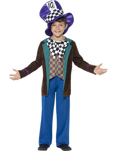Hatter Deluxe - Child Costume front