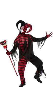 Krazed Jester - Adult Costume