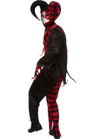 Krazed Jester - Adult Costume left