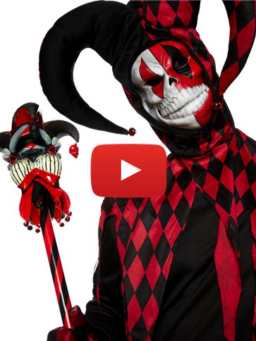 Krazed Jester - Adult Costume video