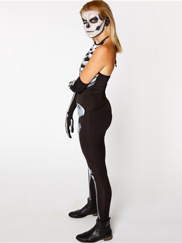 Bone-A-Fied Babe - Adult Costume back