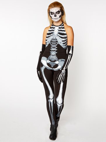 Bone-A-Fied Babe - Adult Costume left