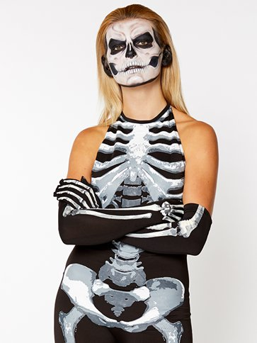 Bone-A-Fied Babe - Adult Costume side