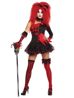 Jesterina £26.99. Scary Clown & Halloween Clown Costumes u2013 Scary Clowns | | Party Delights